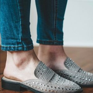 Shoes - Don't be Jealous Mules-Grey
